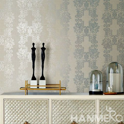 HANMERO Dining Room Natural Material Bronzing Wallpaper with Luxury Stylish Designs for Wallcovering Distributors Agents
