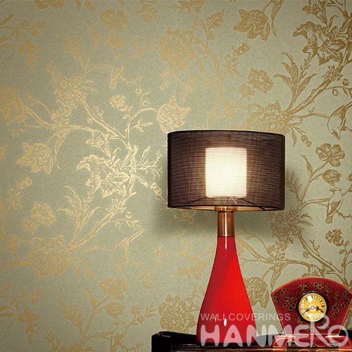HANMERO Best Selling Eco-friendly Durable Good Design Bronzing Wallpaper for Kitchen Walls from Chinese Wholesaler Modern