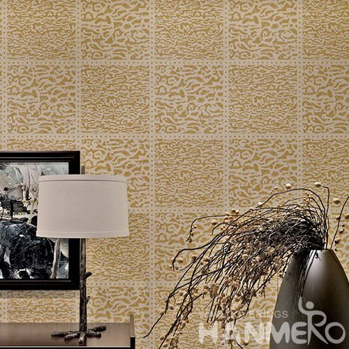 HANMERO Latest Modern Style Office Design Bronzing Wallpaper Factory Supplier with SGS.ISO.CE.REAH Certificate