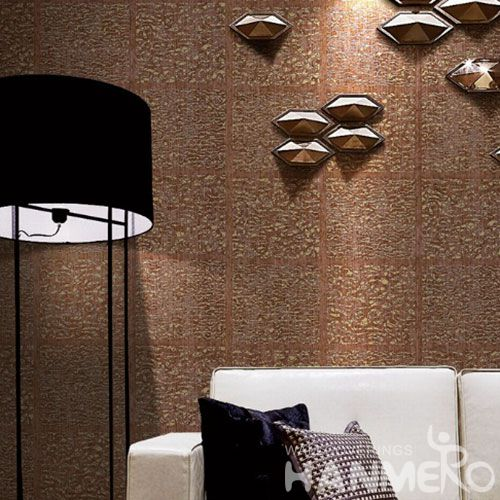 HANMERO Modern Unique Durable Interior Living Room Wallpaper with Exclusive Bronzing Technology New designs