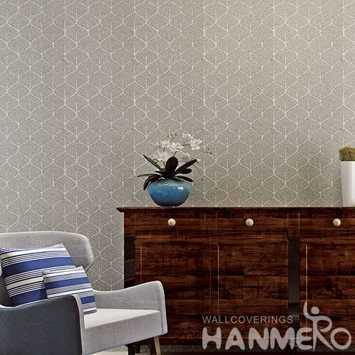 HANMERO New Arrival Eco-friendly Natural Plant Fiber Wallpaper in Modern Style for Elegant Home Livingroom Decoration
