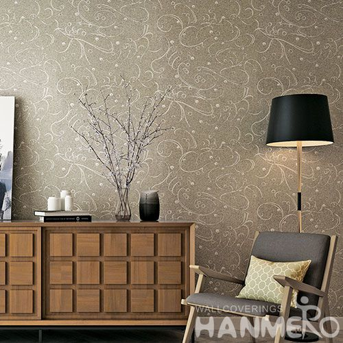 HANMERO Latest Unique High-end Plant Fiber Particle Wallpaper with Top-grade Quality for Wall Decor from Chinese Wholesaler
