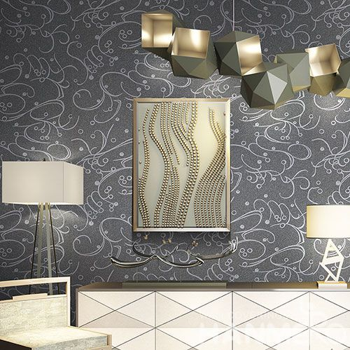 HANMERO Manufacture Wall Decoration Plant Fiber Particle Wallpaper for Livingroom Bedroom on Sale from Chinese Supplier