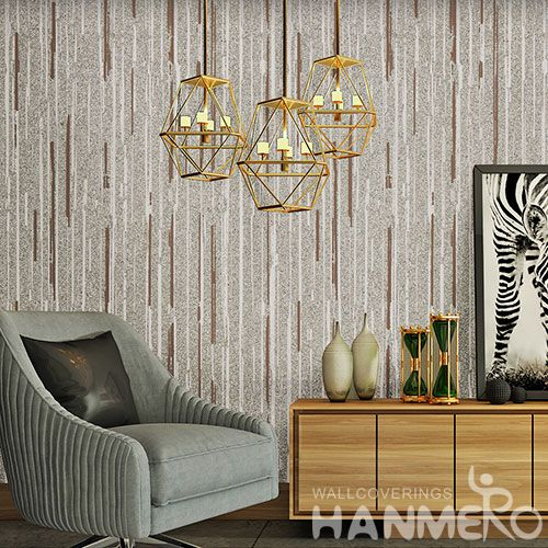 HANMERO Chinese Wallcovering Supplier Modern Fashion Plant Fiber Wallpaper Natural Material for Kitchen Bathroom Wall Decor