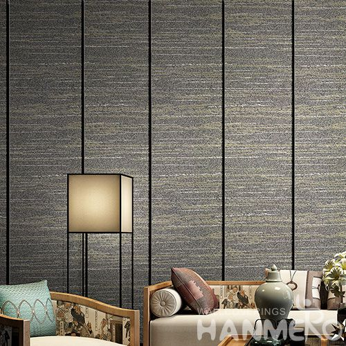 HANMERO Top Selling Modern Simple Design Interior Room Plant Fiber Particle Wallpaper Wallcovering Supplier from China