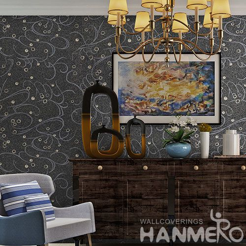 HANMERO Affordable Hot Sex Natural Plant Fiber Wallpaper Household Room Wallcovering with Competitive Prices from Chinese Dealer