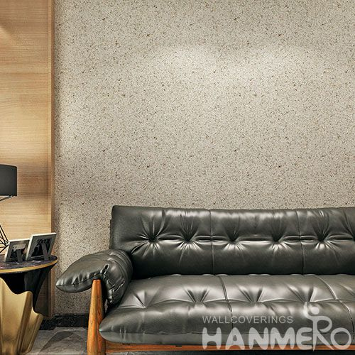 HANMERO Eco-friendly Strippable Home Decoration Wallcovering Stone Textured Mica Wallpaper with Wholesale Price Beautiful Designs