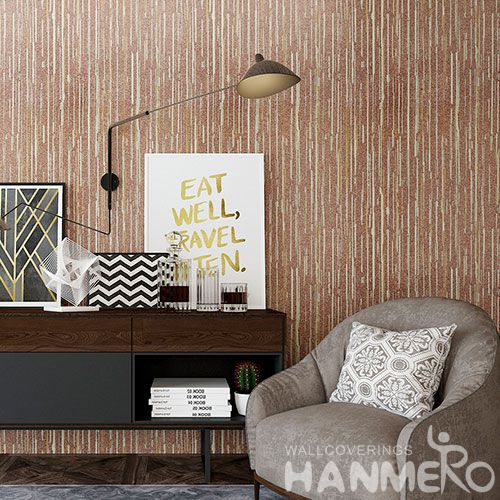 HANMERO New Published Luxury and Modern Design Plant Fiber Particle Wallpaper Fresh Hot Selling Wallcovering