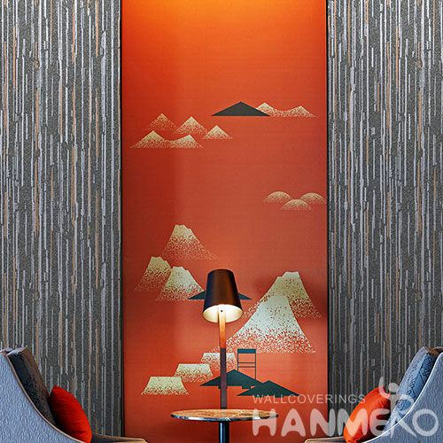 HANMERO New Style Decorative Plant Fiber Particle Wallpaper for Interior Wall Designer from Chinese Wholesaler
