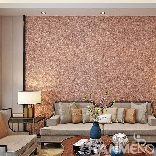 HANMERO High-end Eco-friendly Natural Mica Wallpaper in Modern Style for Elegant Home Livingroom Decoration