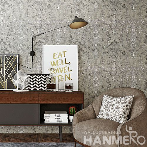 HANMERO New Fashion Plant Fiber Particle Wallpaper for Living Room Wall Manufacturer Designer from China