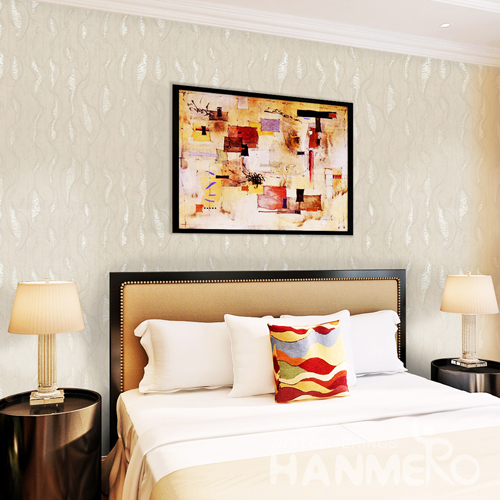 Hanmero High grade Modern PVC Deep Embossed Wallpaper