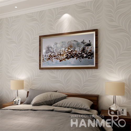Hanmero Italian Deep Embossed Wallpaper Rolls Ivory