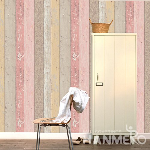 HANMERO 3D Rural Embossing PVC Wallpaper Colour Home Decor
