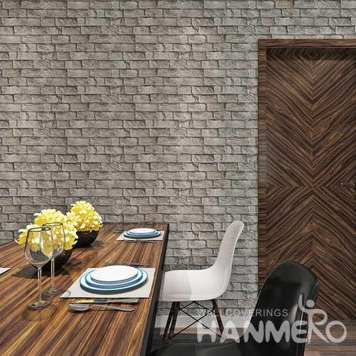 HANMERO Retro Brick 3D Vision Vinyl Wallpaper For
