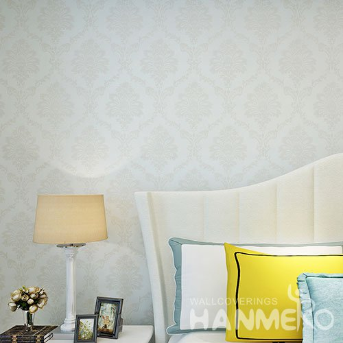 HANMERO White PVC European Embossed Qualified Wallpaper