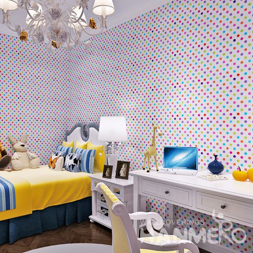 HANMERO Modern Spot And White Peel and Stick Wall paper Removable Stickers