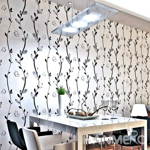 HANMERO Rural Nature White Peel and Stick Wall paper Removable Stickers