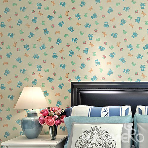 HANMERO Modern Design Beige Peel and Stick Wall paper Removable Stickers