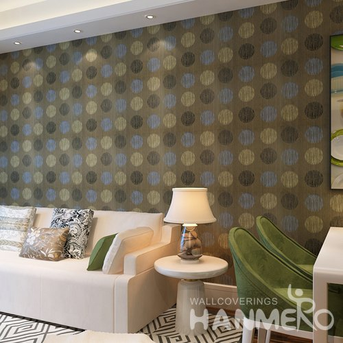 HANMERO Modern Stripe Gold Peel and Stick Wall paper Removable Stickers