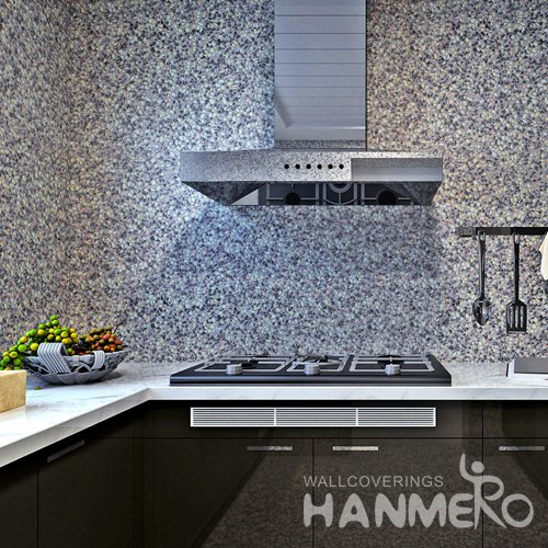 HANMERO Modern Imitation Marble Brown Peel and Stick Wall paper Removable Stickers