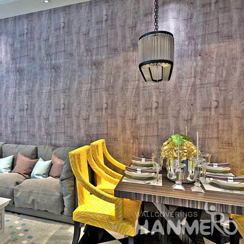 HANMERO Modern Solid Black Peel and Stick Wall paper Removable Stickers