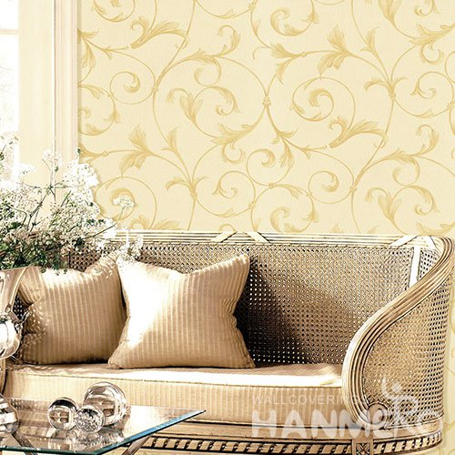 HANMERO Modern Buff Embossed Vinyl WallPaper Murals 0.53*10M/roll Home Decor