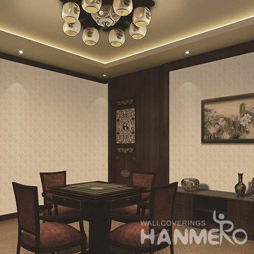 HANMERO Modern Solid Color Embossed Vinyl Wall Paper Murals 0.53*10M/Roll Home Decor