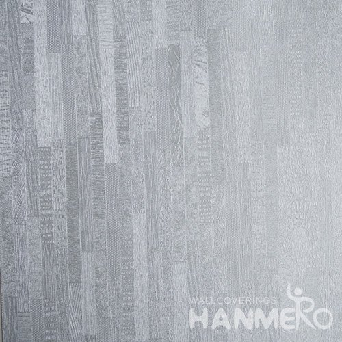 HANMERO Embossed Modern Solid Blue PVC Wallpaper For Home Interior Decoration