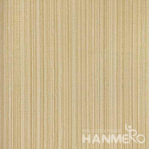 Hanmero Home Decoration Brown Solid Color Modern Vinyl Embossed Wallpaper 0.53*10M/Roll