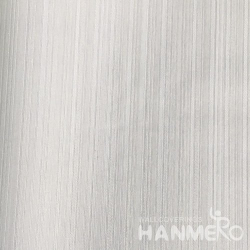 HANMERO Modern PVC Embossed With Grey Solid Wide Korean Wallpaper 1.06*15.6M/Roll