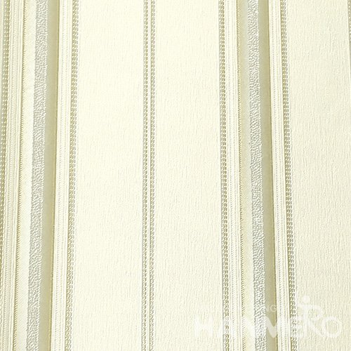 HANMERO Modern PVC Embossed With Green Stripes Wide Korean Wallpaper 1.06*15.6M/Roll