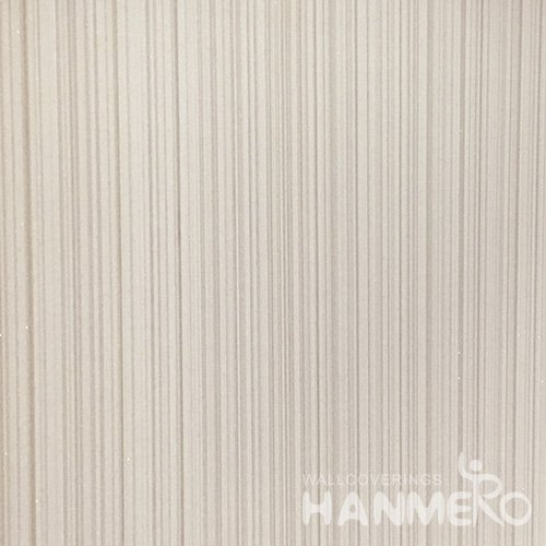 HANMERO Modern Solid Brown Color PVC Interior Wallpaper Decorative Embossed