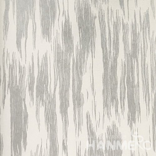 HANMERO Standard Solid PVC Wallpaper Modern Silver  0.53*10M/Roll For Room Wall