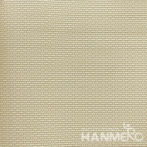 HANMERO Modern  0.53*10M/Roll PVC Wallpaper With Yellow Solid Embossed Surface