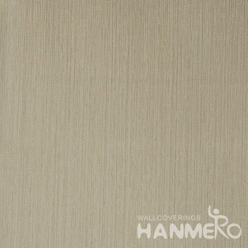 HANMERO Solid Color Modern Embossed Surface PVC Wallpaper With Yellow Solid