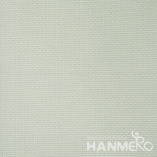 HANMERO Solid Color Modern Embossed Surface PVC Wallpaper With Green Solid