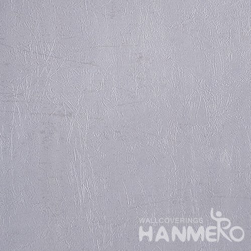 HANMERO Solid Color Modern Embossed Surface PVC Wallpaper With Purple Solid