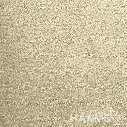 HANMERO Brand New Italian Design Modern PVC Embossed Yellow Solid Home Wallpaper