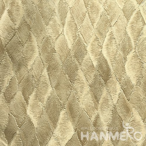 HANMERO Standard PVC Material Modern Style  0.53*10M/Roll Green Plaids Wallpaper For Room