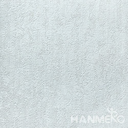 HANMERO Standard PVC Material Modern Style  0.53*10M/Roll Blue Solid Wallpaper For Room