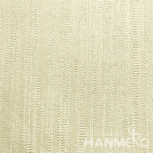 HANMERO Standard PVC Material Modern Style  0.53*10M/Roll Yellow Solid Wallpaper For Room