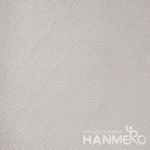 HANMERO Standard PVC Material Modern Style  0.53*10M/Roll Pink Solid Wallpaper For Room