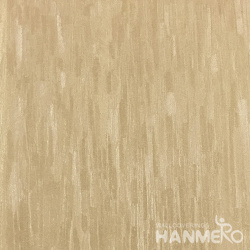 HANMERO 0.53*10M/Roll European PVC Embossed Wallpaper With Brown Solid For Wall